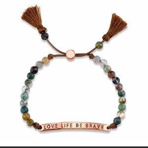 Pull cord bracelet